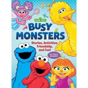 5/$15 Sesame Street Busy Monsters Activity Book